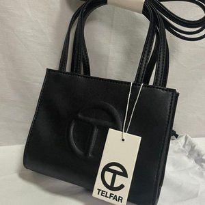 Telfar Small Dark Olive Shopping Bag